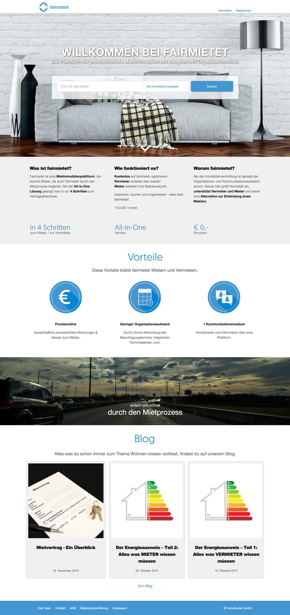 fairmietet home page